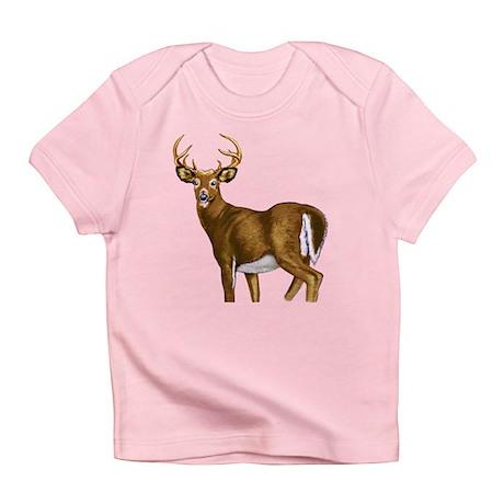 American White Tail Deer Buck Infant T-Shirt