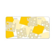 Cheese 1 Aluminum License Plate