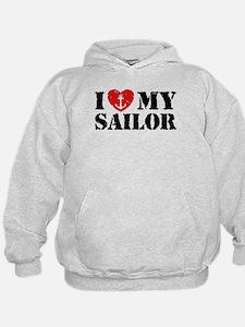 I Love My Sailor Hoody