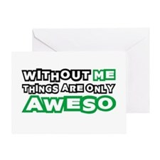 Me - Awesome Greeting Card