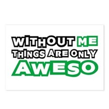 Me - Awesome Postcards (Package of 8)