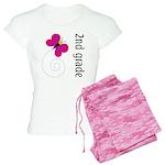 Great Teacher Gift 2nd Grade Women's Light Pajamas