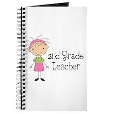 Teacher Present 2nd Grade Journal