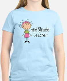 Teacher Present 2nd Grade T-Shirt