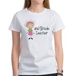 Teacher Present 2nd Grade Women's T-Shirt