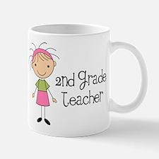 Teacher Present 2nd Grade Mug