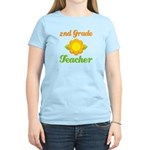 Cute Second Grade Teacher Women's Light T-Shirt