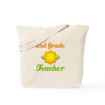 Cute Second Grade Teacher Tote Bag