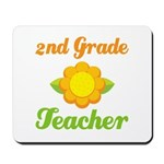 Cute Second Grade Teacher Mousepad