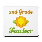 Cute Second Grade Teacher Mousepad