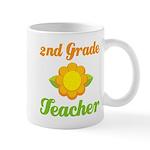 Cute Second Grade Teacher Mug
