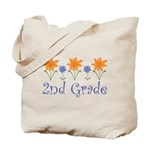 Cute Second Grade Teacher Tote Bag