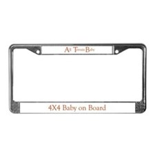 ATB-All Terrain Baby License Plate Frame