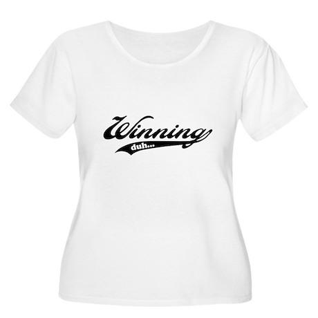 Winning! Women's Plus Size Scoop Neck T-Shirt