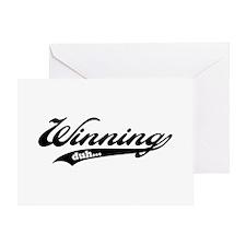 Winning! Greeting Card