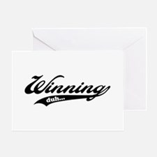 Winning! Greeting Card