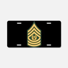 Command Sergeant Major License Plate