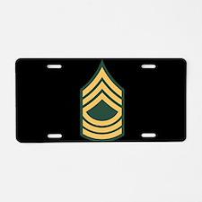 Master Sergeant License Plate