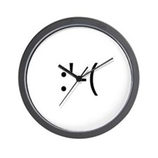 Crying Smilie Wall Clock