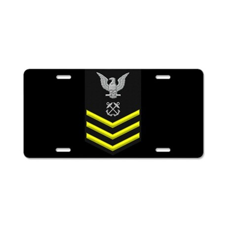 Petty Officer First Class License Plate