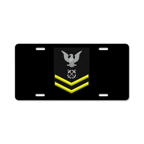 Petty Officer Second Class License Plate