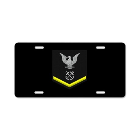 Petty Officer Third Class License Plate