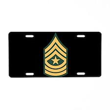 Sergeant Major License Plate