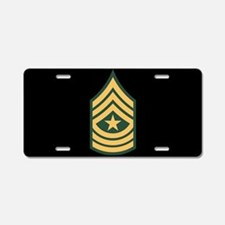 Sergeant Major License Plate