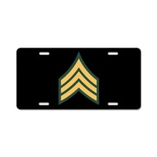 Sergeant License Plate