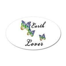 Earth Lover 38.5 x 24.5 Oval Wall Peel