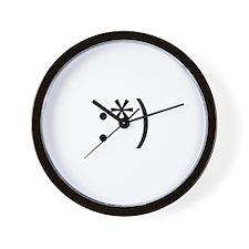 Drunk Smilie Wall Clock