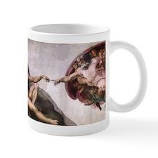Creation of Adam Mug