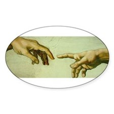 Creation of Adam (detail - Ha Decal