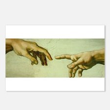 Creation of Adam (detail - Ha Postcards (Package o