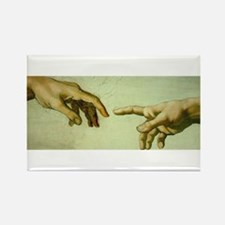 Creation of Adam (detail - Ha Rectangle Magnet