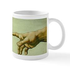 Creation of Adam (detail - Ha Mug
