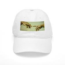 Creation of Adam (detail - Ha Baseball Cap