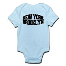 NEW YORK BROOKLYN Infant Bodysuit