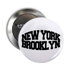 "NEW YORK BROOKLYN 2.25"" Button"