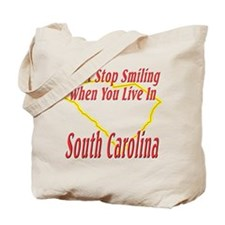 Can't Stop Smiling in SC Tote Bag