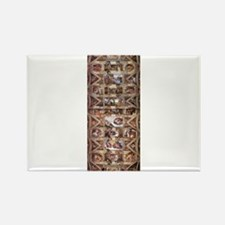 Sistine Chapel Ceiling Rectangle Magnet