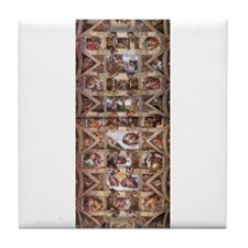 Sistine Chapel Ceiling Tile Coaster