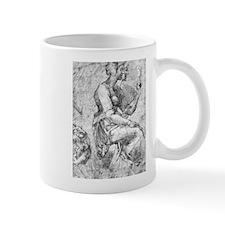 Study of a Seated Woman Mug