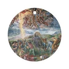 The Conversion of Saul Ornament (Round)