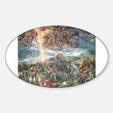 The Conversion of Saul Sticker (Oval)