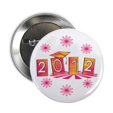 "Groovy Senior 2012 2.25"" Button (100 pack)"