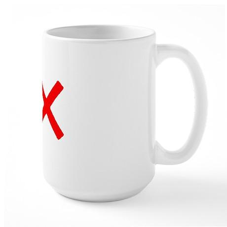 PACIFIST Large Mug