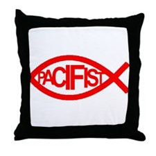 PACIFIST Throw Pillow