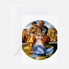 The Holy Family with Infant S Greeting Card