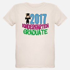 2017 Kindergarten Grad Girl T-Shirt